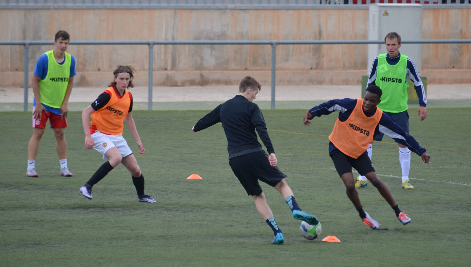 Football trials in Spain 2016