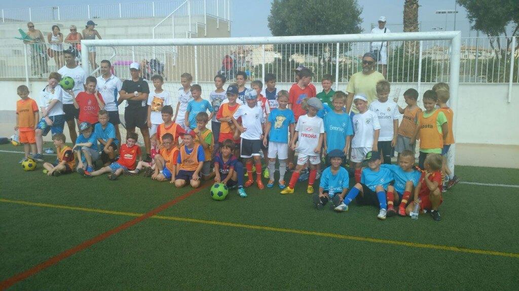 football camp in Spain, Torrevieja