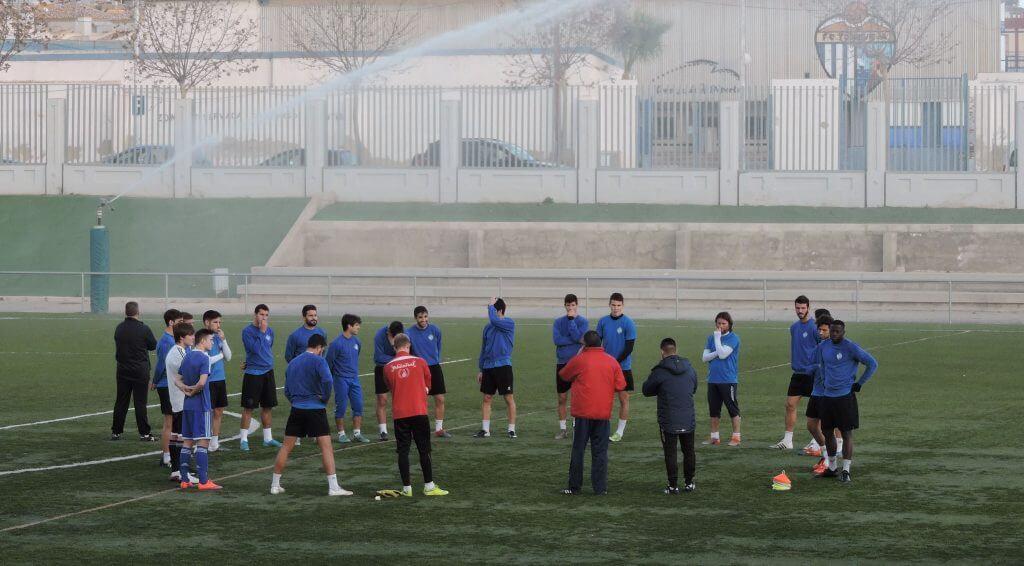 фото отчет_просмотр футболистов в Испании